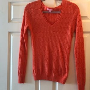 Lilly Pulitzer cashmere sweater size small